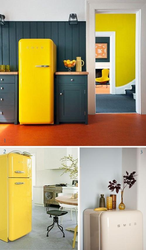 smeg 50 s style un icona di frigorifero happychubbystar design. Black Bedroom Furniture Sets. Home Design Ideas