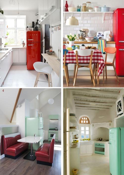Smeg 50 s style un icona di frigorifero happychubbystar design - Cucine con frigo smeg ...